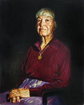 Portrait of Rosemary by Tatyana Holodnova