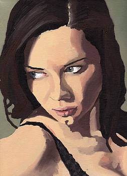 Portrait of Sammy Paige by Stephen Panoushek