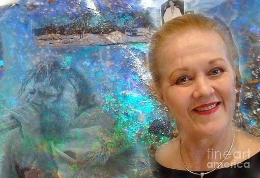 Portrait - Opal in Australia by Geoffrey Mann