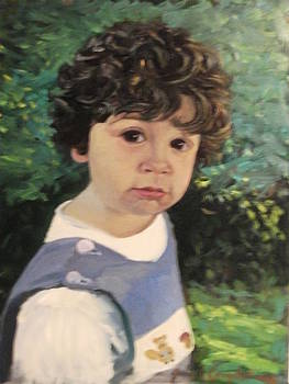 John L Campbell - Portrait study