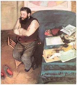 Edgar Degas - Portriat of Diego Martelli