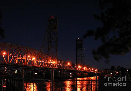 Michael Mooney - Portsmouth Bridge sunrise