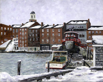 Portsmouth harbor by Paul Gardner