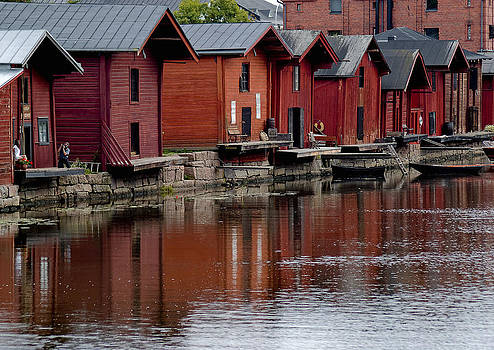 Porvoo Finland by Stephanie Benjamin