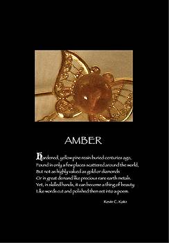 Poster Poem - Amber by Poetic Expressions