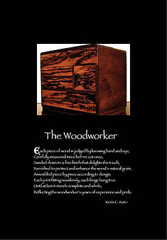 Poster Poem - The Woodworker by Poetic Expressions