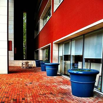 Pots #biguns #blue #earthy #red by Will Lopez