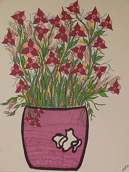 Nancy Fillip - Potted Flowers