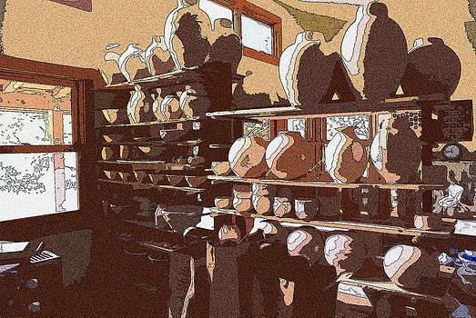 Potter's Shelf by Tim Ernst