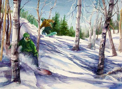 Powder Flight by Barbara Field