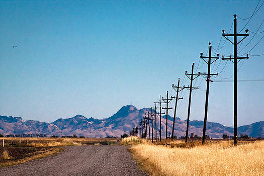 Chris Fullmer - Power Lines and a Dirt Road