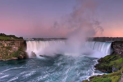 Power of Horseshoe-Niagara Falls by JHR photo ART