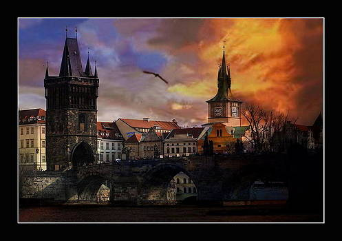 Prague - Charles Bridge by Petr Nikl