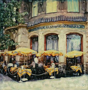 Prague Cafe by Rod Huling