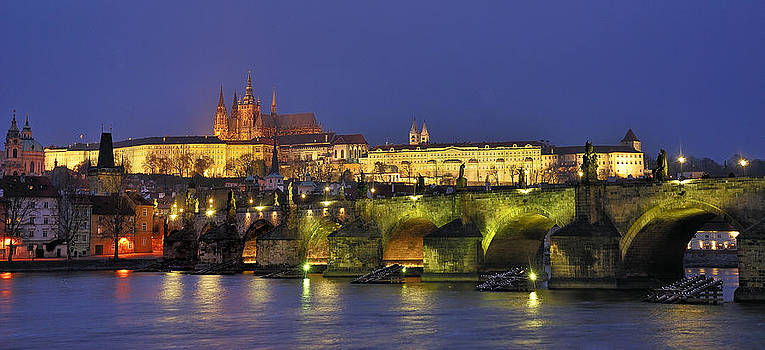 Prague Castle by Travel Images Worldwide