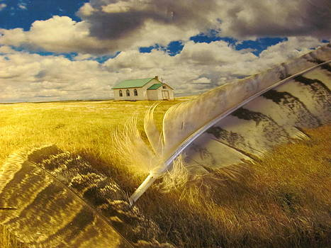Prairie Feathers by Lori  Secouler-Beaudry