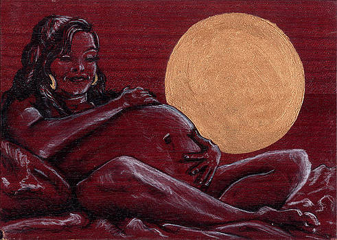 Pregnant Venus by Mani Price