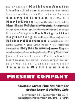 Present Company by Fountain Street Fine Art