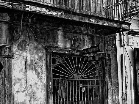 Kathleen K Parker - Preservation Hall- black and white