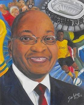 President Zuma - Election 2009 by Jeanne Silver