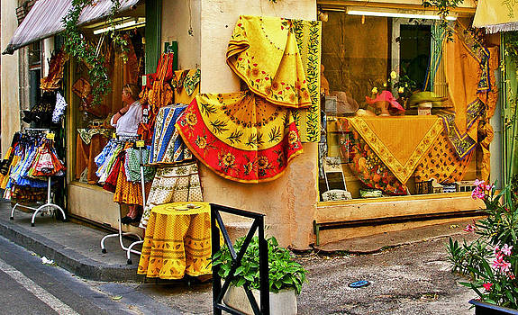 Pretty Shop in Provence by Christine Burdine