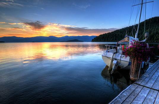 Priest Lake Awakens by Matt Hanson
