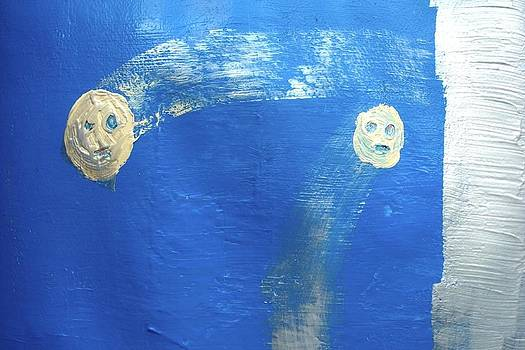 Primitive Faces by Raul Gubert