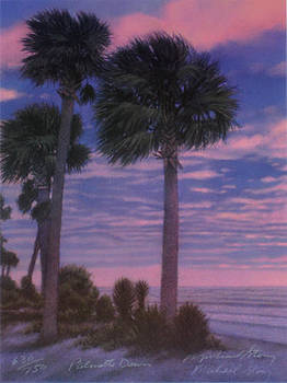 PRINT Palmetto Dawn by Michael Story