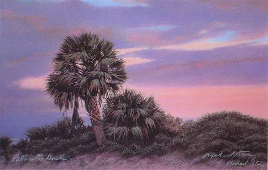 PRINT Palmetto Dusk by Michael Story