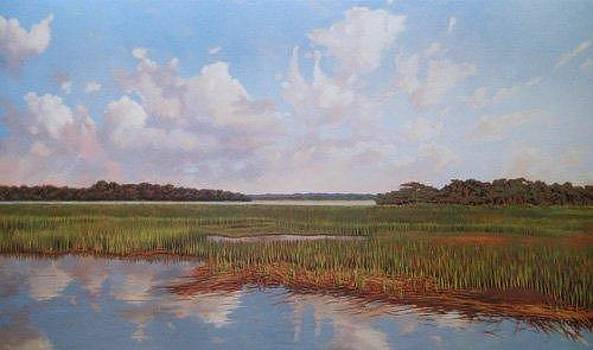 PRINT Salt Marsh Tide by Michael Story
