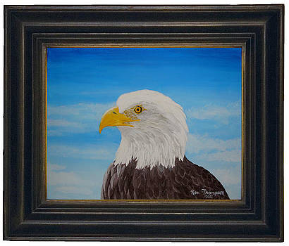 Proud Eagle by Ron Thompson