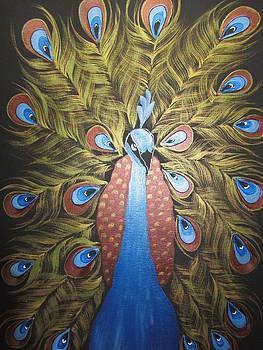 Proud Peacock by Archana Kari