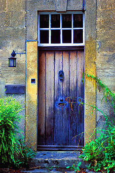 Provence Door by Christopher Brown