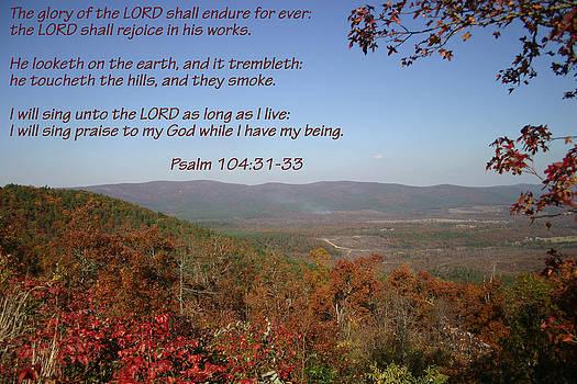 Nina Fosdick - Psalm 104 31 33