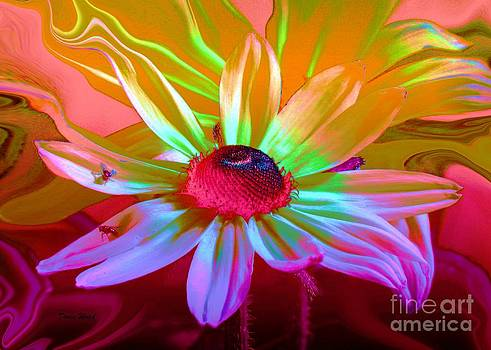 Psychedelic Flower by Doris Wood