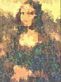Psychedelic Mona 2 by Mark Einhorn