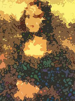 Psychedelic Mona by Mark Einhorn