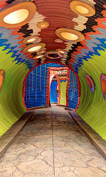 Psychedelic Tunnel by Chuck Bowser