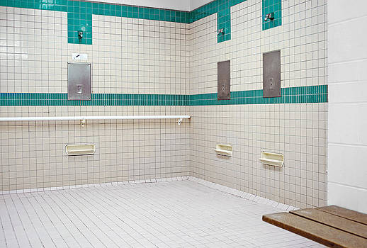 Public Shower Room For Use by Marlene Ford