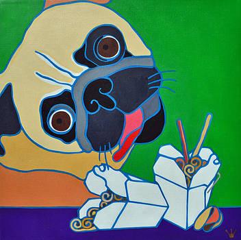 Pug-zilla by Jenny Valdez