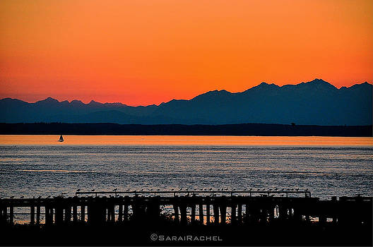 Puget Sound Sunset by Sarai Rachel