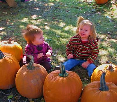 Pumpkin Patch Kids by Victoria Sheldon