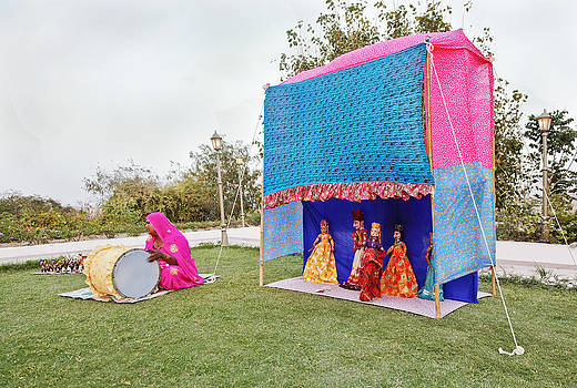 Kantilal Patel - Puppet Performance Rajasthan
