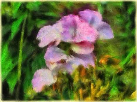 Purple and Green by Ramani K