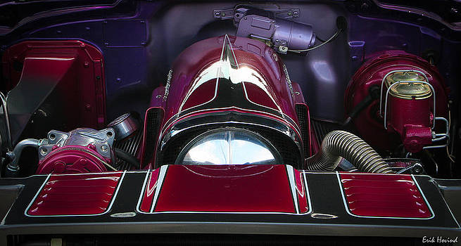 Purple and Red Engine Bay by Erik Hovind