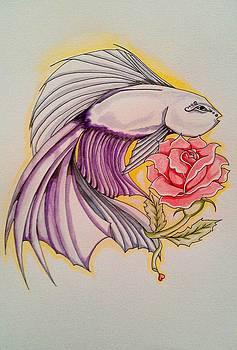 Purple Beauty by Victoria Dietz