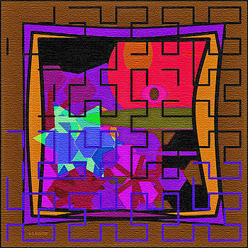 Dee Flouton - Purple Brown Maze