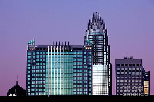 Purple Charlotte sunset by Patrick Schneider