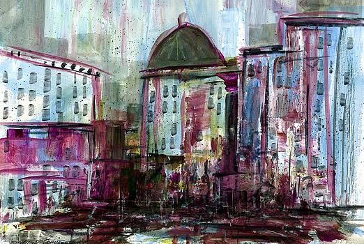 Purple City by Steven W Schultz