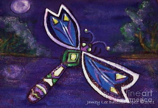 Jamey Balester - Purple Dragonfly